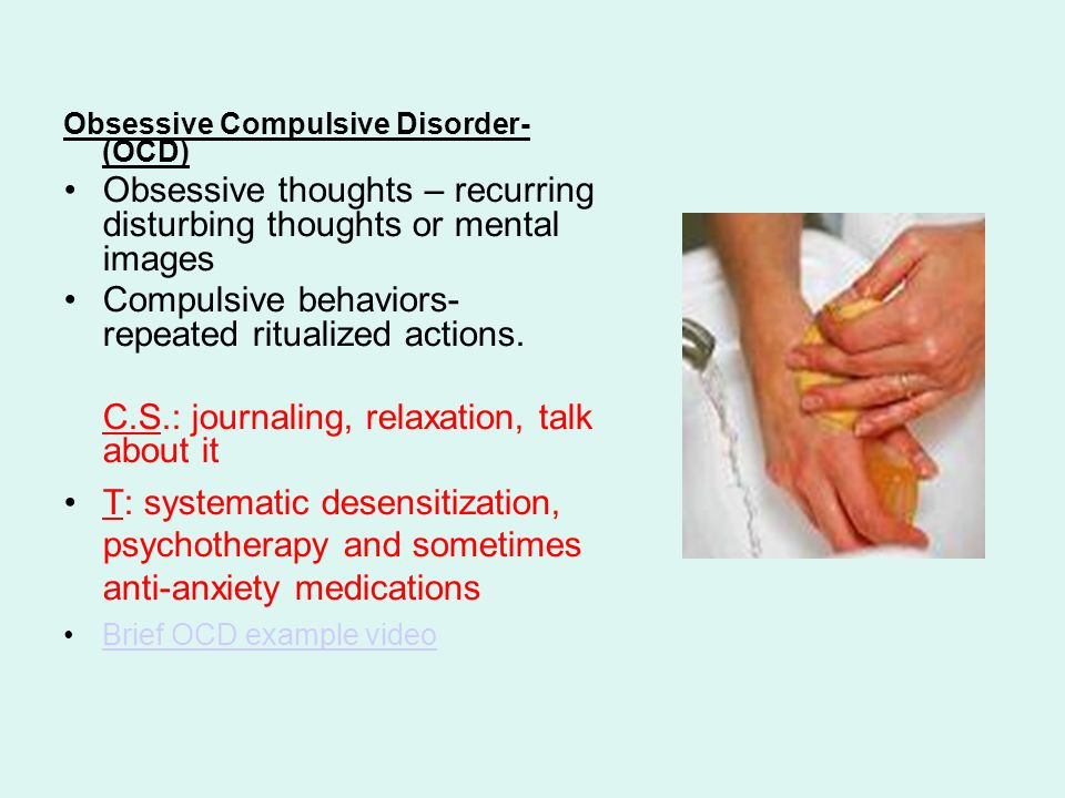an analysis of obsessive compulsive disorder on a mind in decline Signs and symptoms of obsessive compulsive disorder ocd: symptoms, signs & risk factors schizophrenia is an elusive disorder of the mind that has the power.