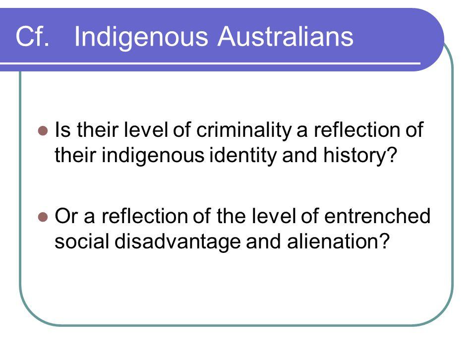Cf. Indigenous Australians