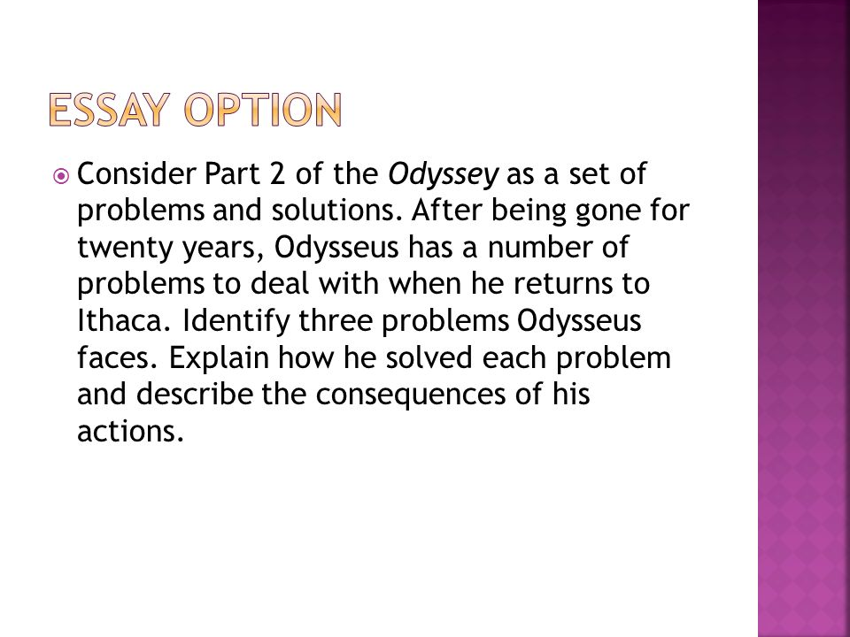 a review of the odyssey The odyssey test review jeopardy style review game.