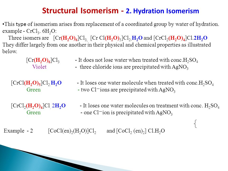 isomerism in coordination compounds pdf