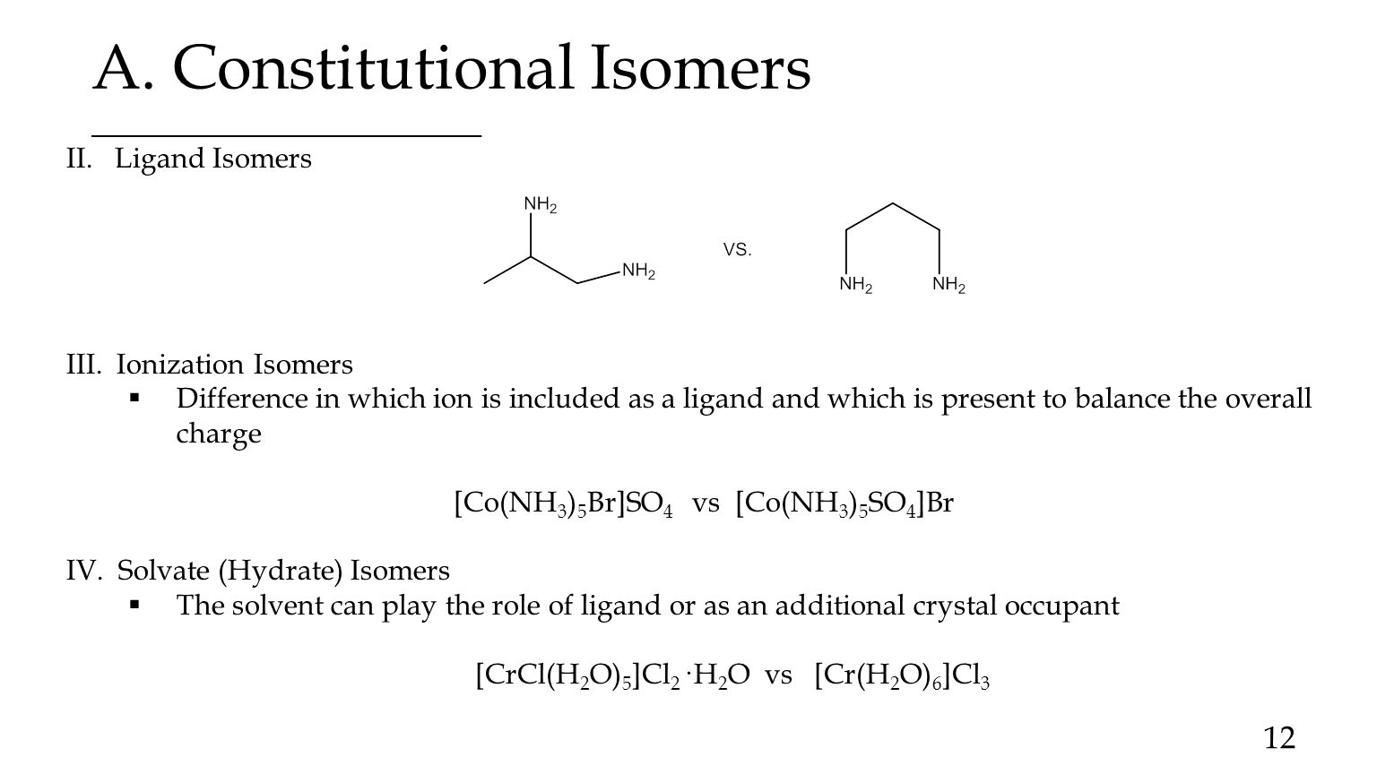 Coordination chemistry nomenclature isomerism and structure 12 a constitutional isomers gamestrikefo Gallery