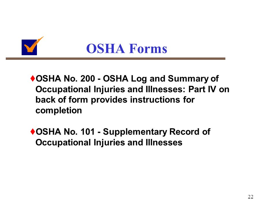 OSHA Recordkeeping Guidelines for Occupational Injuries and ...