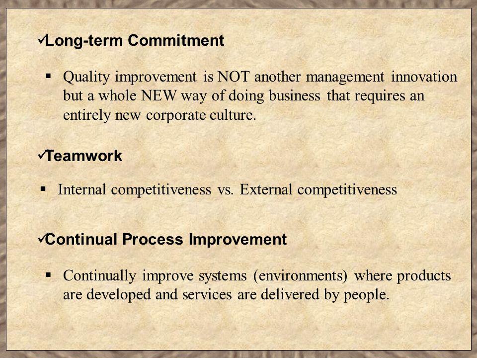 Long-term Commitment