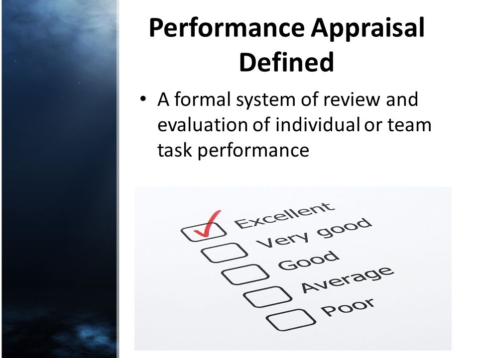 team performance appraisal system ppt The interim performance management system uses a two-level performance appraisal system  team and supervisory accountability as identified in critical elements on.