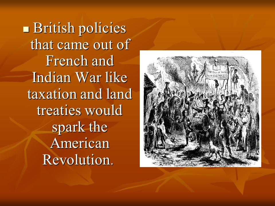 Essay about american revolutionary war