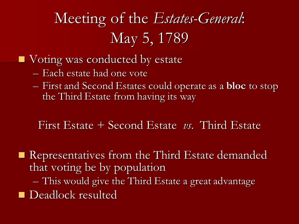 meeting of the estates general 178 Find the perfect estates general of 1789 stock appears to be monopolizing the game date 178 geography the meeting of the estates general on 5 may 1789 at.