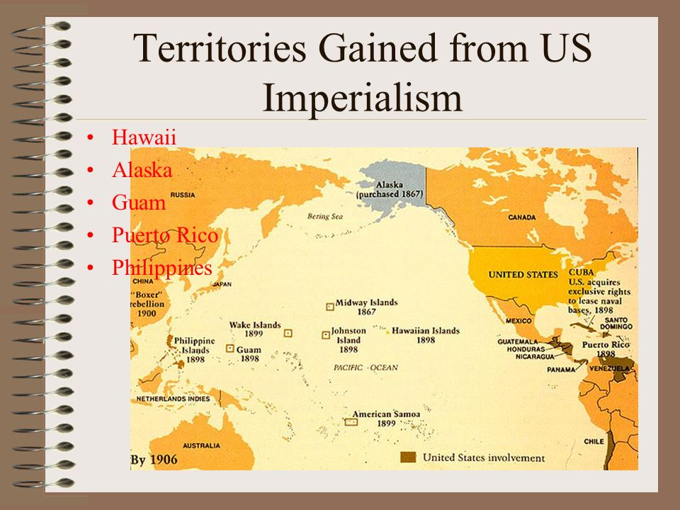 territories gained from us imperialism