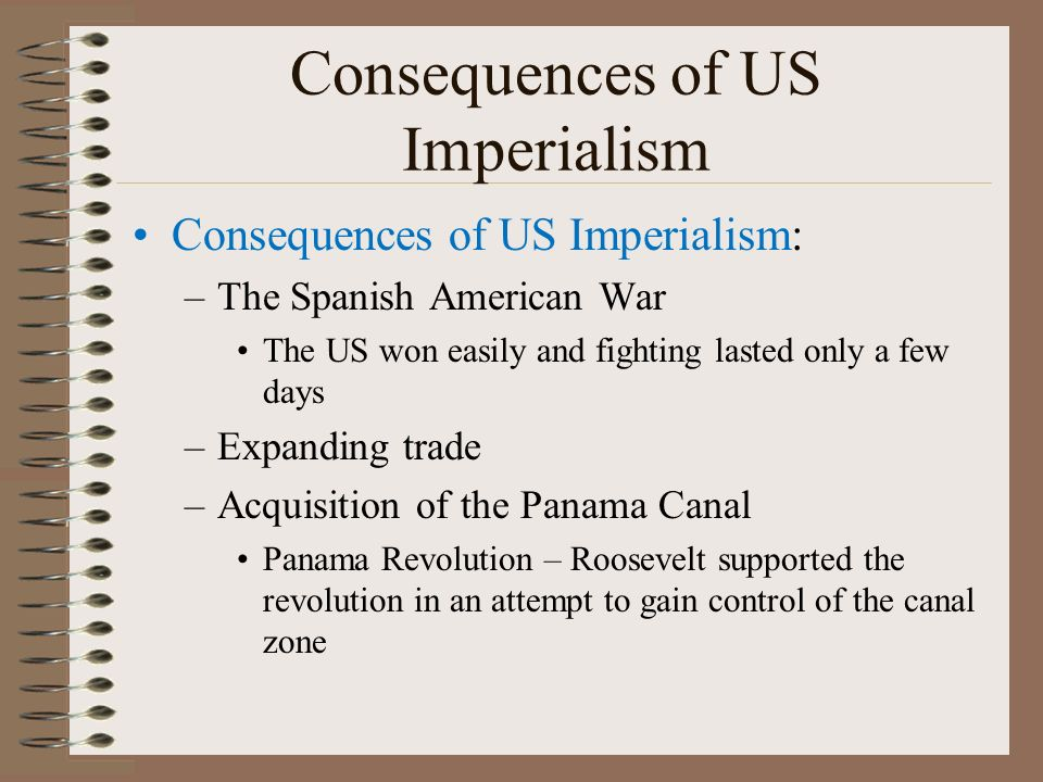 """what were some of the consequences of imperialism for the west and the rest of the world Causes and effects of imperialism life during imperialism cecil rhodes wrote in his will in 1877 that african americans were """"the most world war i."""