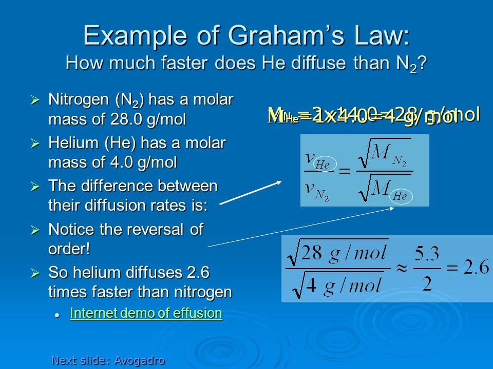molar mass of helium Chemists need a way of simply determining how many molecules they  for an  element, the molar mass is the mass of 1 mol of atoms of that.