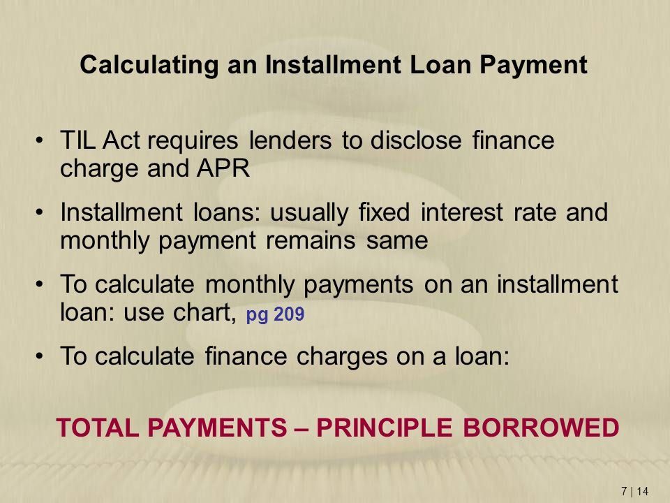 Credit Cards and Consumer Loans - ppt video online download