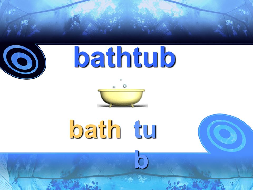 bathtub bath tub