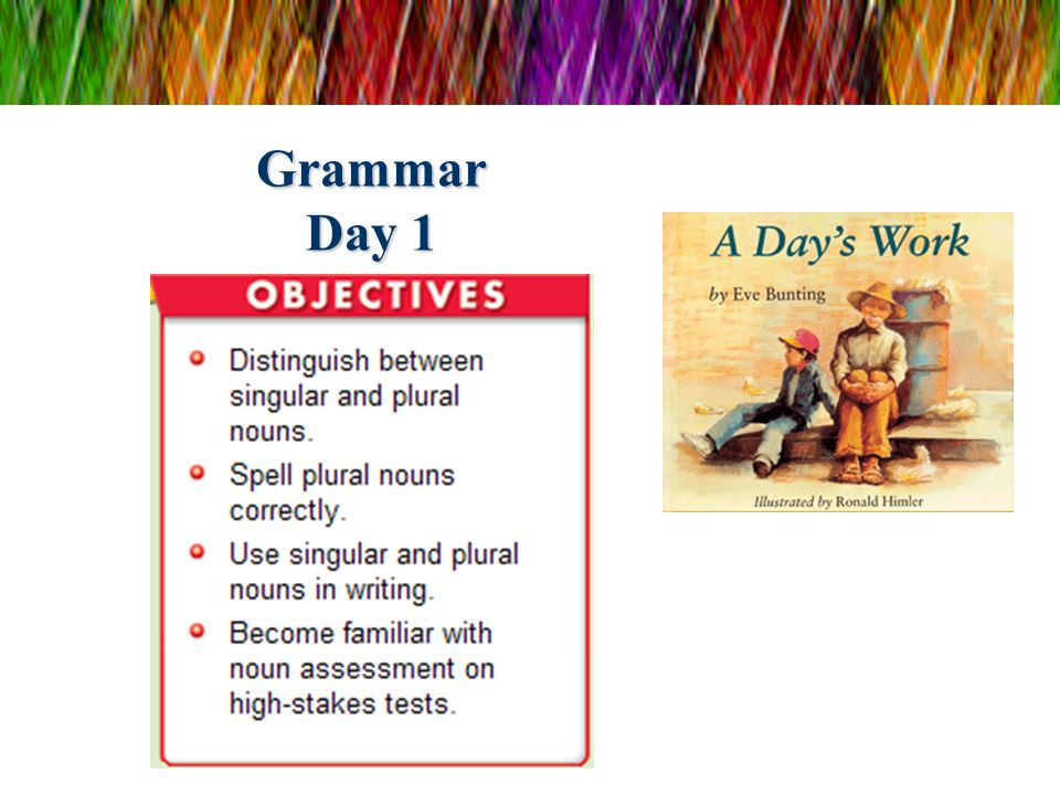 Grammar Day 1