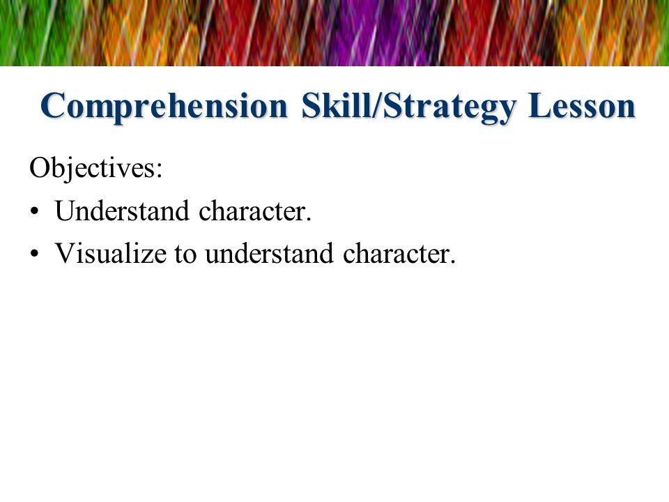 Comprehension Skill/Strategy Lesson