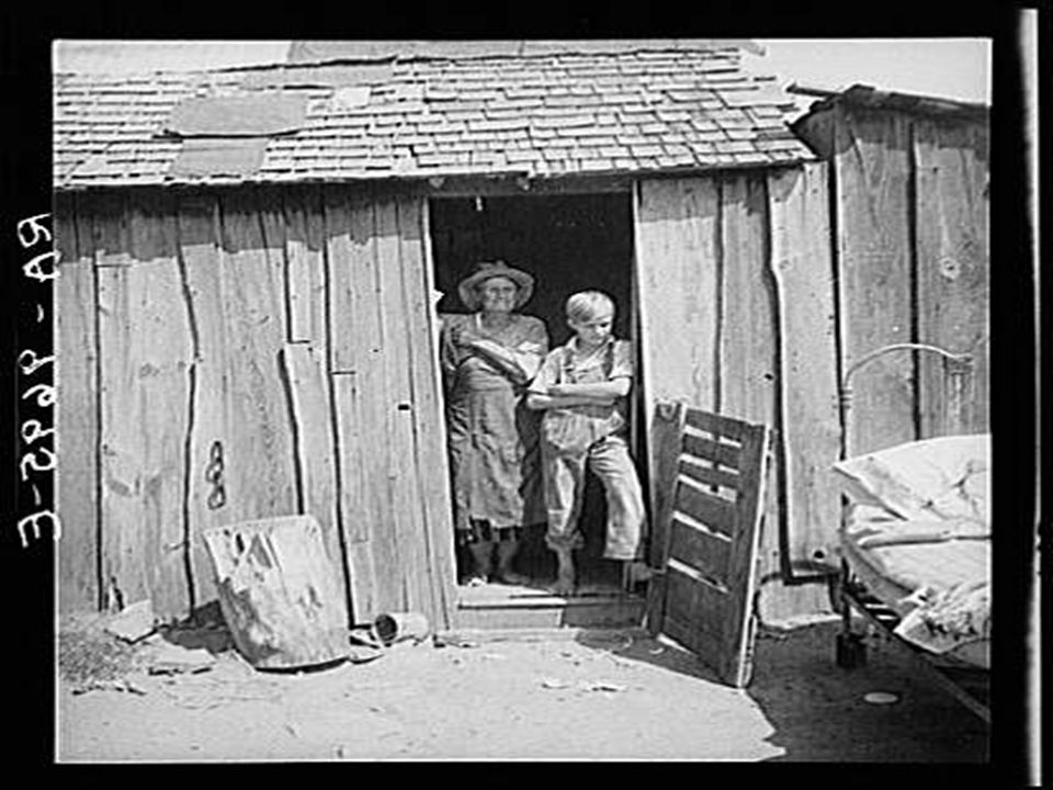 People living in miserable poverty, Elm Grove, Oklahoma County, Oklahoma. August 1936.