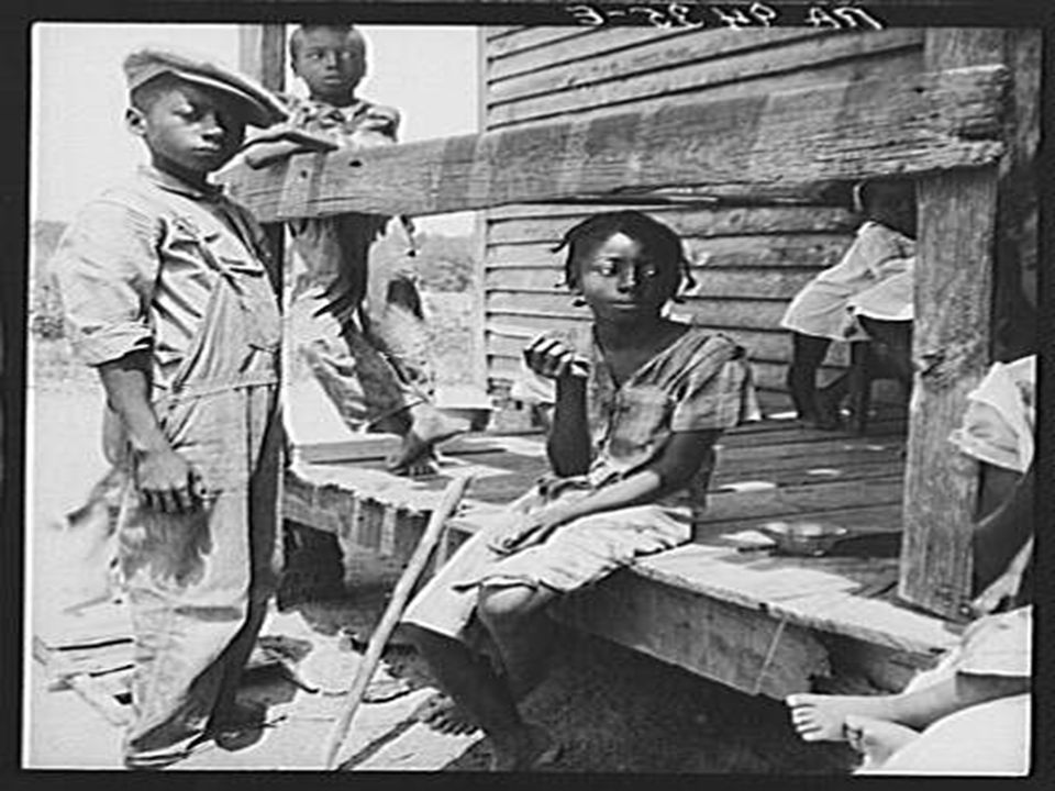 Mississippi Delta children.