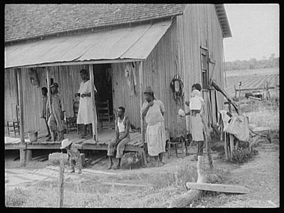 Tenant family near Greensboro, Alabama.