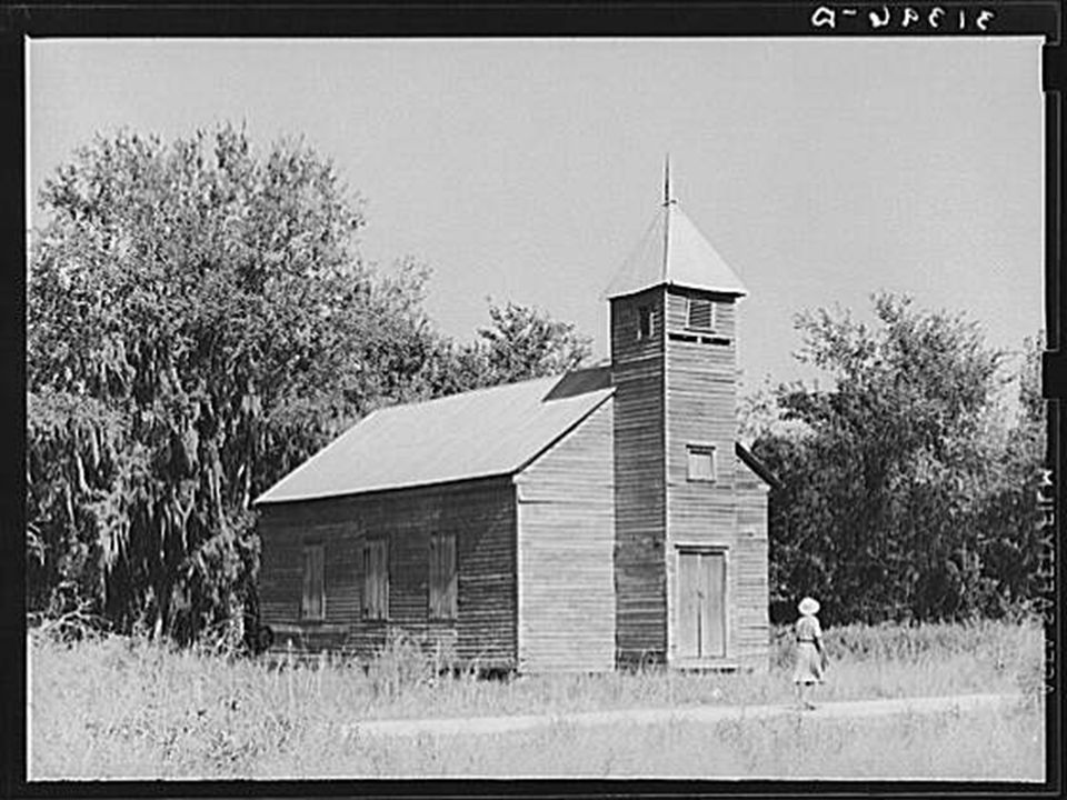 Church near Paradis, Louisiana