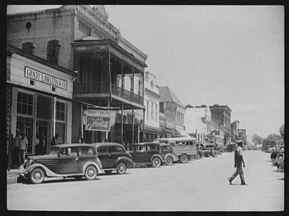 Main street. Greensboro, Alabama.