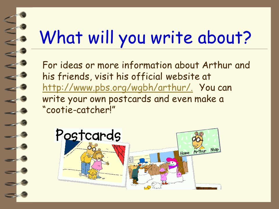 What will you write about
