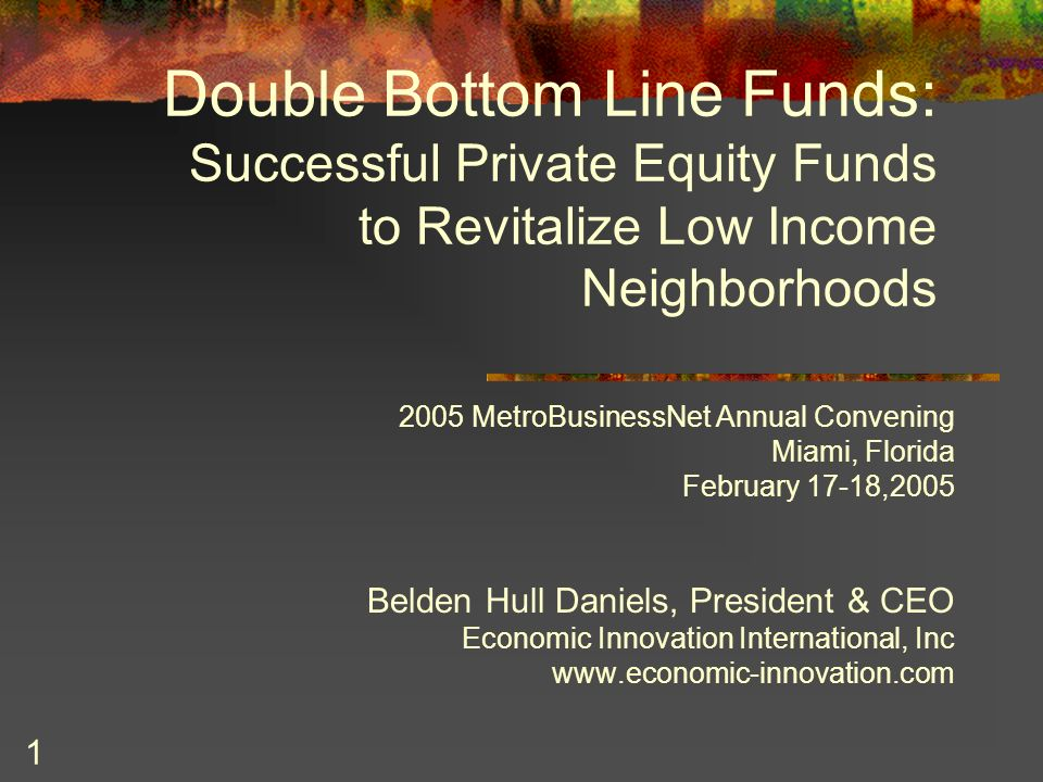 Double bottom line fund images 194