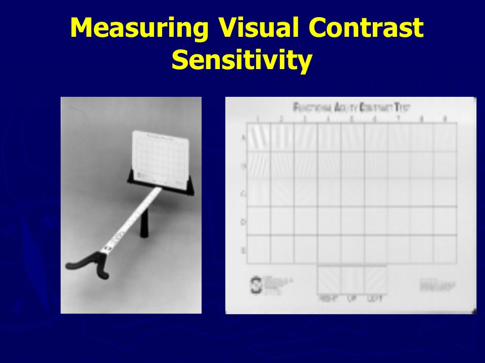 Measuring Visual Contrast Sensitivity