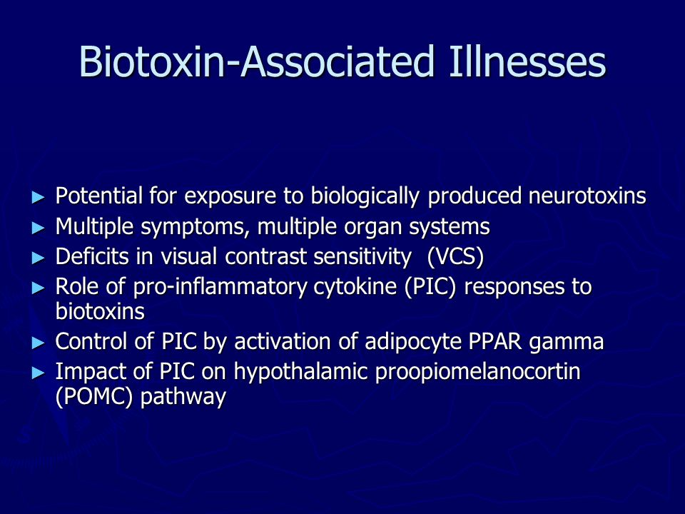Biotoxin-Associated Illnesses