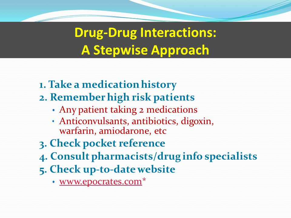 drug interactions in pharmacotherapy ppt download
