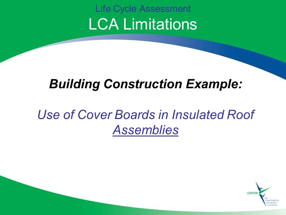 Measuring sustainability life cycle assessment ppt for Lca construction