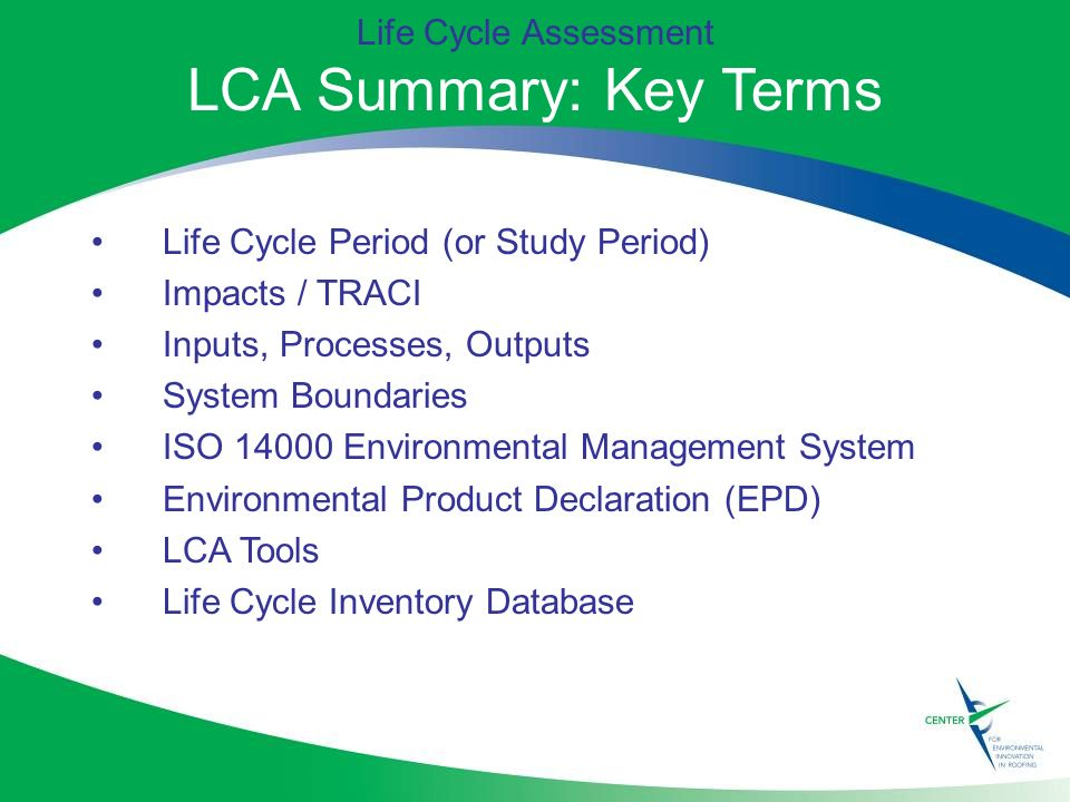 Measuring Sustainability Life Cycle Assessment Ppt