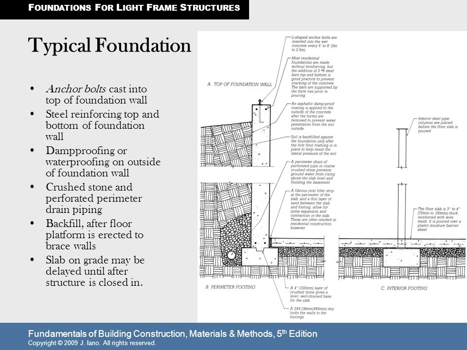 Awesome Foundations For Steel Framed Buildings Gift - Ideas de ...