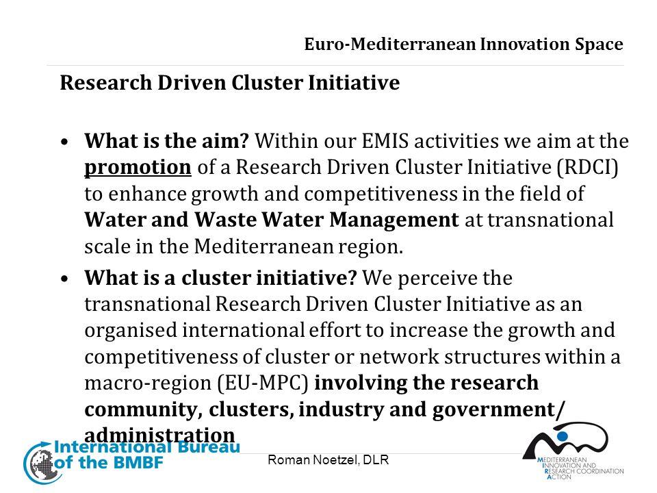 Research Driven Cluster Initiative