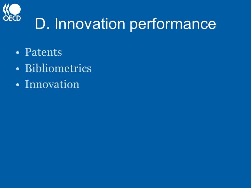 D. Innovation performance