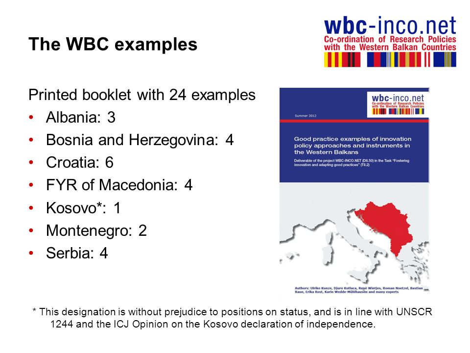 The WBC examples Printed booklet with 24 examples Albania: 3