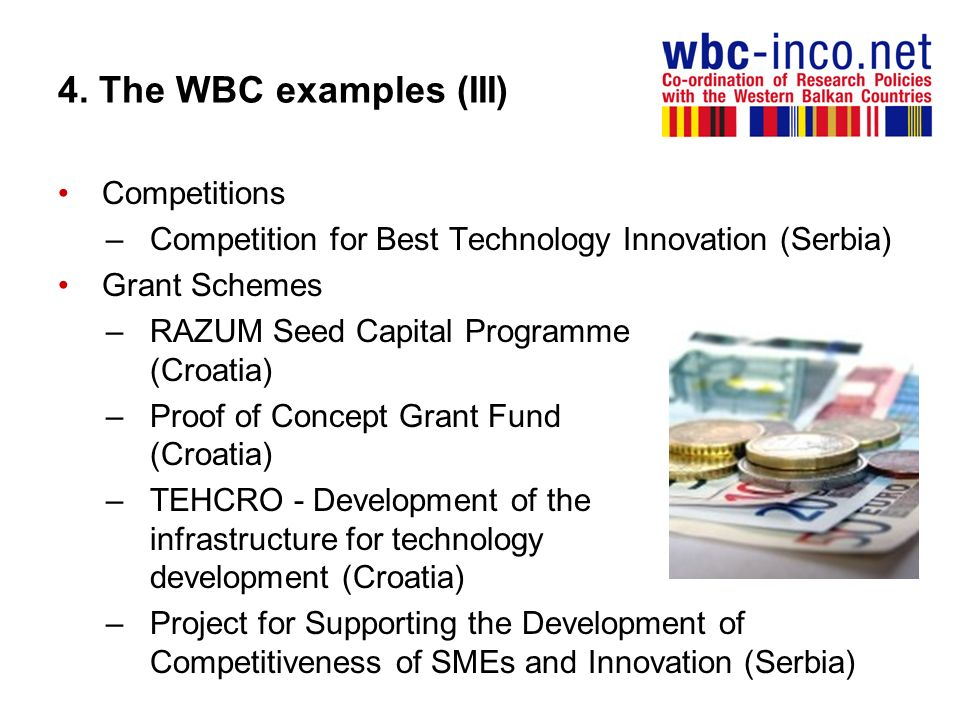 4. The WBC examples (III) Competitions