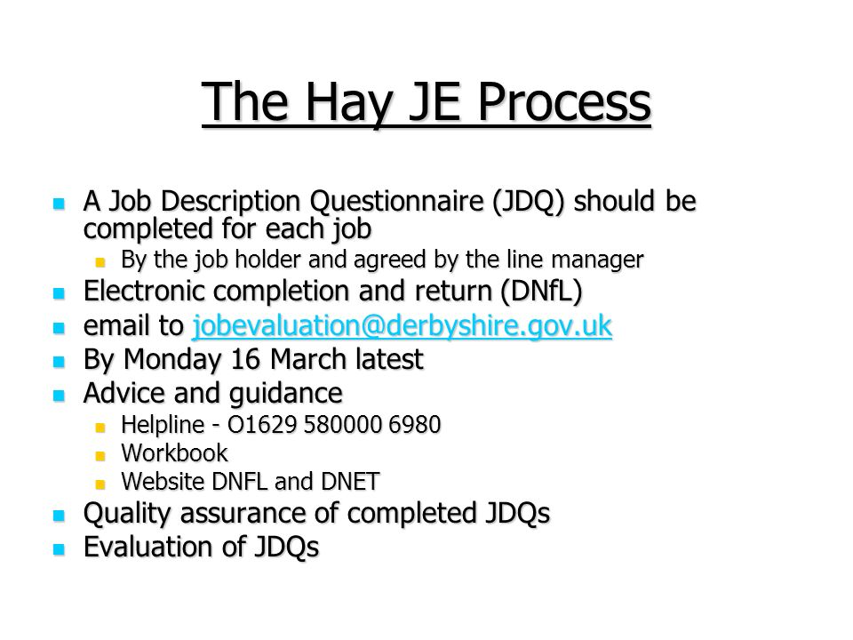 Single Status And Job Evaluation - Ppt Video Online Download