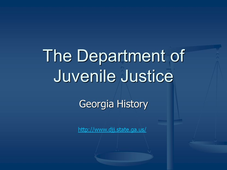 the department of juvenile justice and The department of justice studies offers undergraduate degrees in criminal justice and criminal justice with specialization in juvenile justice the criminal justice program is designed to produce proficient graduates who can excel in various aspects of the field in leadership, service, research and innovation.