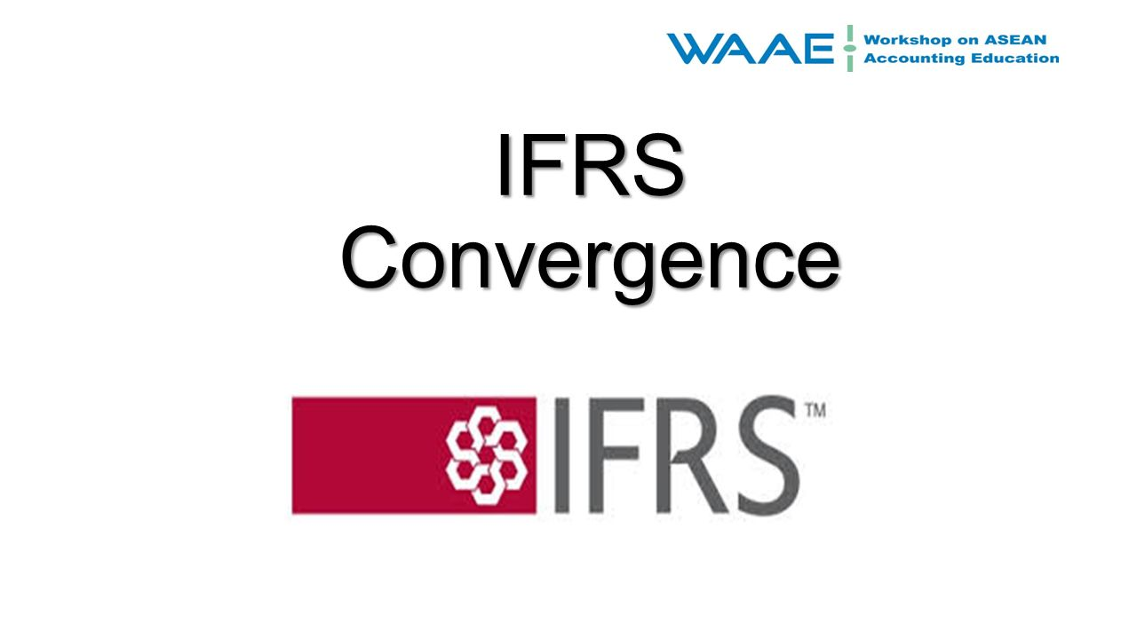 convergence of us gaap and ifrs essay Free essay: pros & cons of gaap and ifrs convergence the  apparent that  the usaccounting standards known as the generally accepted.