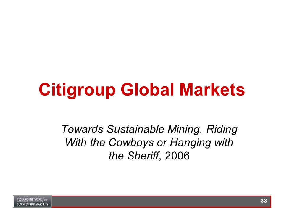 Citigroup Global Markets