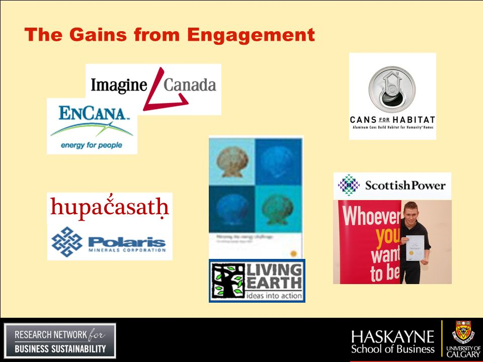 The Gains from Engagement