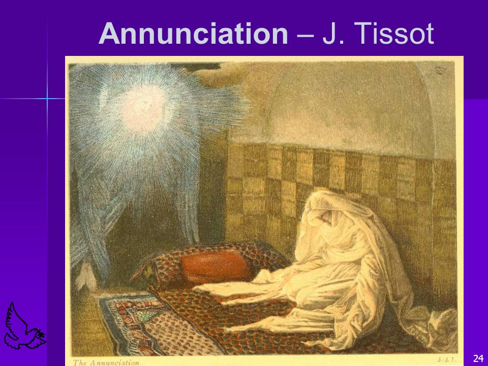 Annunciation – J. Tissot