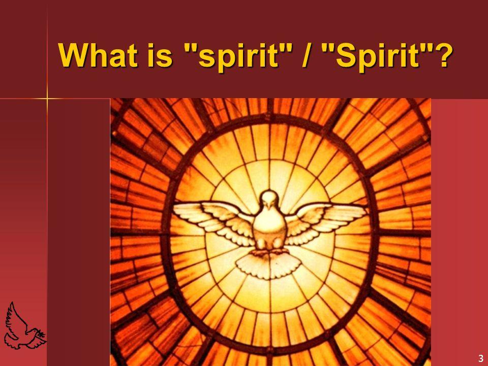 What is spirit / Spirit