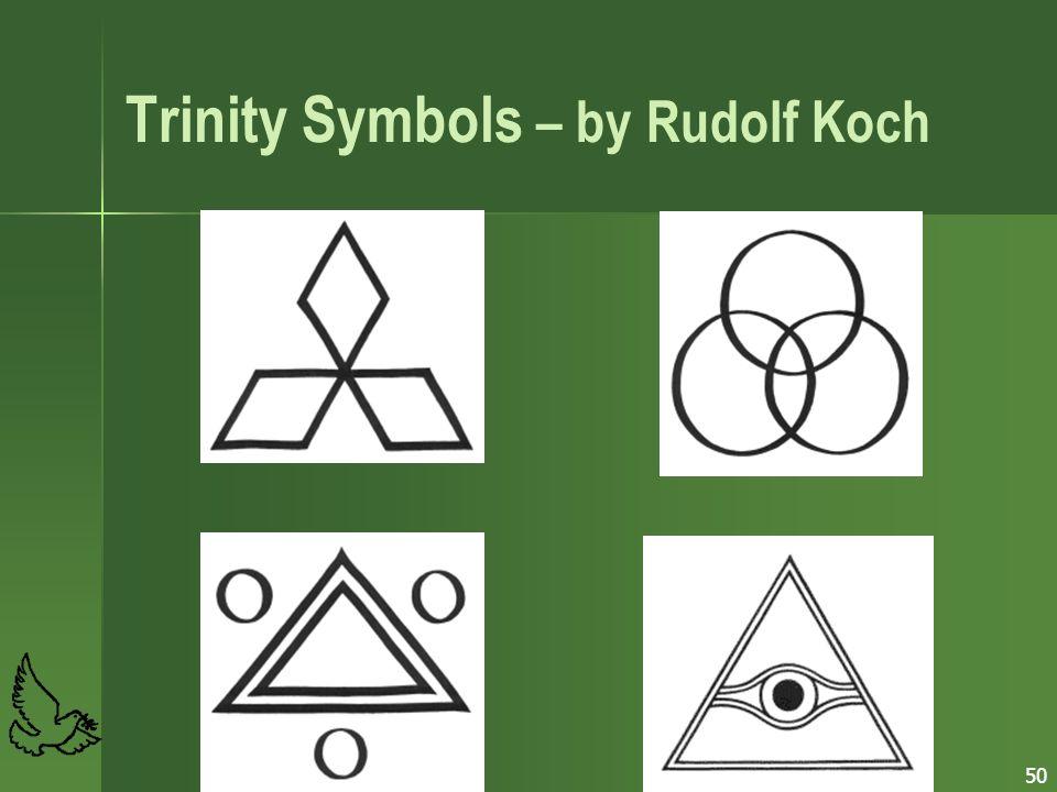 Trinity Symbols – by Rudolf Koch