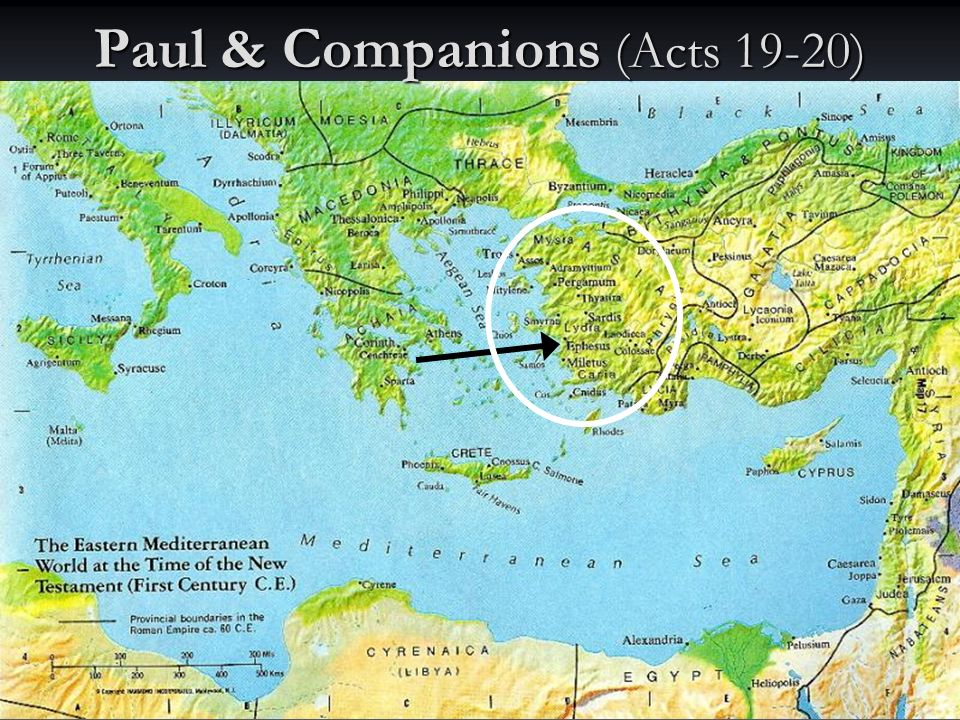 Paul & Companions (Acts 19-20)