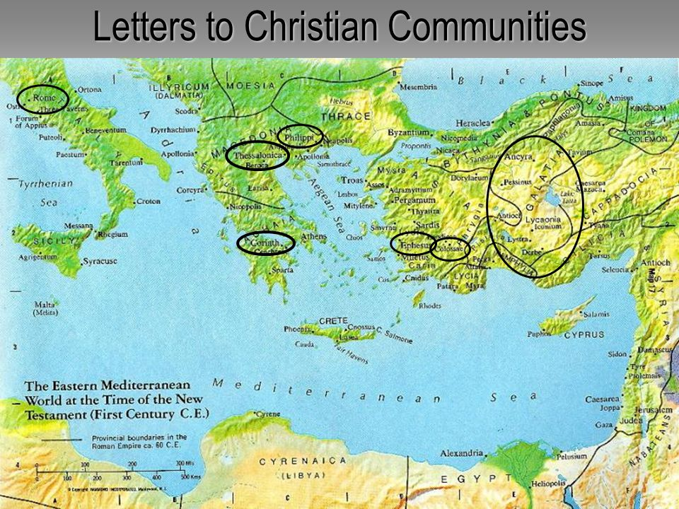 Letters to Christian Communities