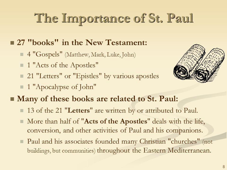 The Importance of St. Paul