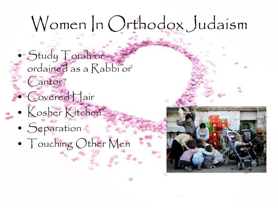 Women In Orthodox Judaism