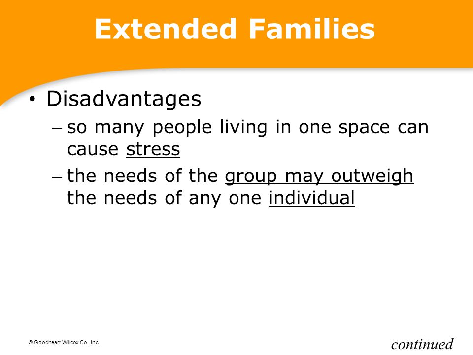 Advantages & Disadvantages Dual-Income Families