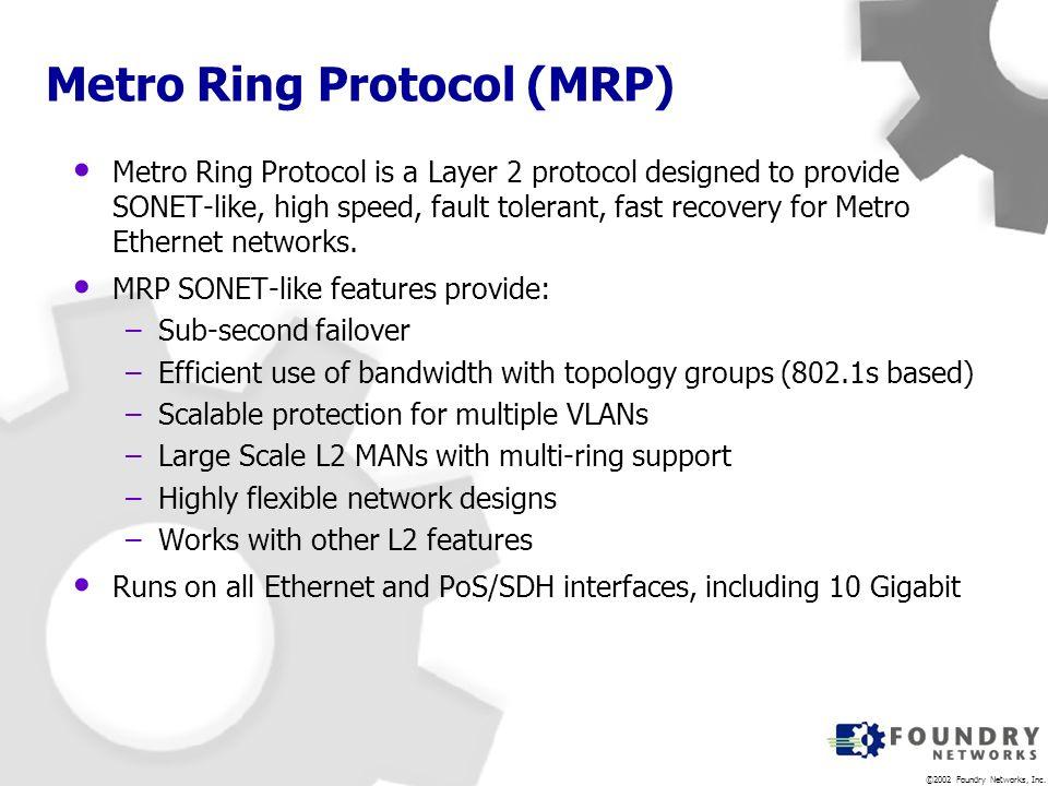 Metro Ring Protocol (MRP)
