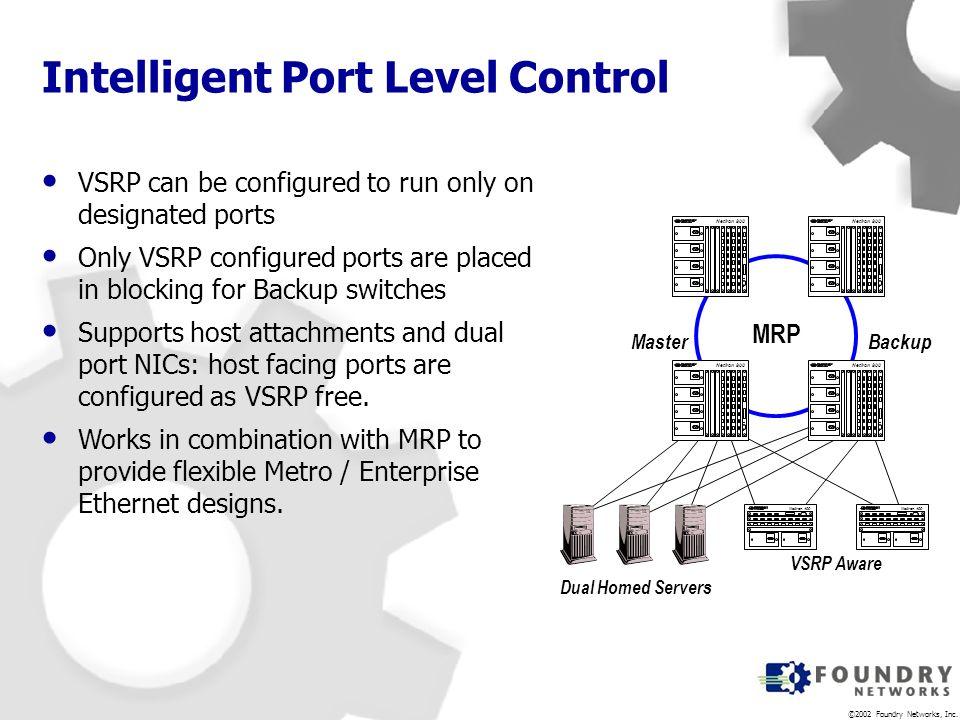 Intelligent Port Level Control
