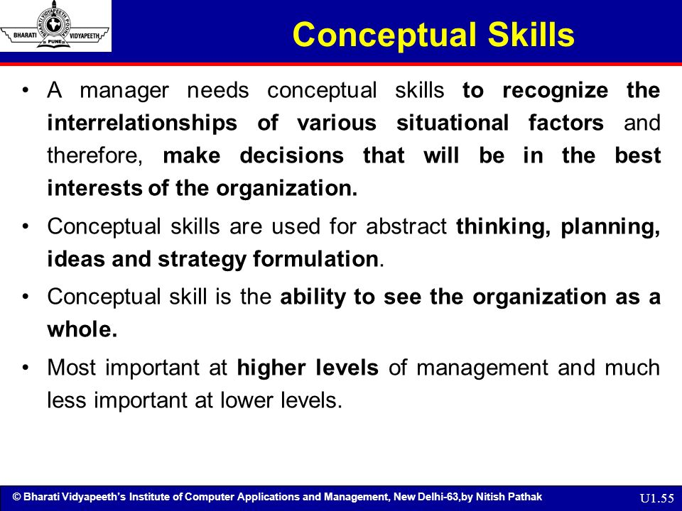 what is the relation between human skill and conceptual skill and technical skill 2 define technical skills human skills and conceptual skills how do these three from engl 2309 at lone star college system my strongest skill is my technical skills human skills also known as human relation skills require communication and.